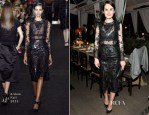 Michelle Dockery In Erdem - Erdem Dinner