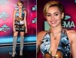 Miley Cyrus In NY Vintage - 2013 MTV EMAs