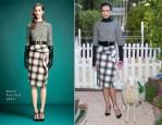 Nieves Alvarez In Gucci - Woolmark's 'Campaña por la Lana' Campaign Unveiling