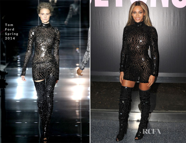 Beyonce Knowles In Tom Ford - 'Beyonce' Album Release Party2 copy