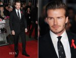 David Beckham In Ralph Lauren - 'The Class Of 92' World Premiere