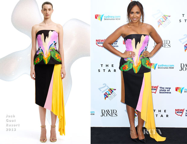 Jessica Mauboy In Josh Goot - ARIA Awards 2013