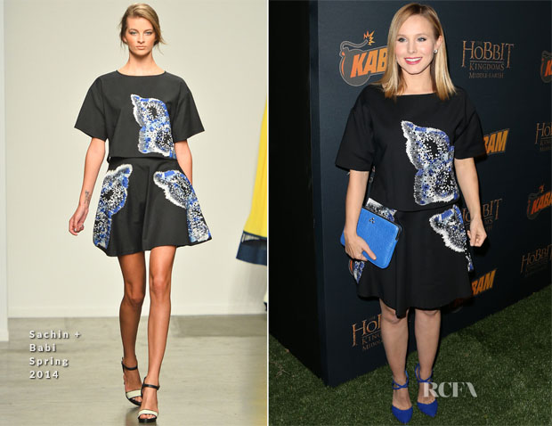 Kristen Bell In Sachin + Babi - 'The Hobbit The Desolation Of Smaug Expansion Pack' Kabam Mobile Game Launch