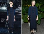 Michelle Williams In Louis Vuitton - Charlotte Perriand - Louis Vuitton Collaboration Celebratory Dinner