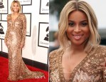 Ciara In Emilio Pucci - 2014 Grammy Awards