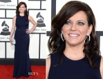 Martina McBride In David Meister - 2014 Grammy Awards