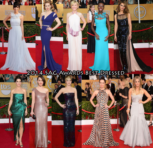Who Was Your Best Dressed At The 2014 SAG Awards