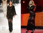 Beyonce Knowles In Roberto Cavalli - DirecTV Super Saturday Night