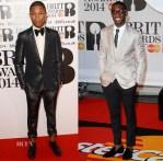 Brit Awards 2014 Menswear Roundup