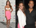 Chrissy Teigen In Milly - Sports Illustrated  Swimsuit South Beach Soiree