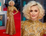 Fearne Cotton In Scaasi - 2014 BAFTAs
