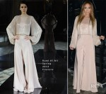 Jennifer Lopez In Rami Al Ali Couture - 'American Idol' Season Thirteen Guys Perform Live Show