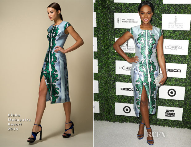 Tika Sumpter In Bibhu Mohapatra - 7th Annual ESSENCE Black Women In Hollywood Luncheon