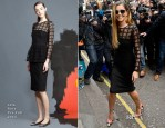 Cheryl Cole In Lela Rose - X Factor Press Conference