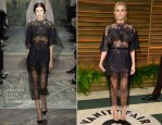 Diane Kruger In Valentino Couture - Vanity Fair Oscar Party 2014