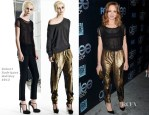 Jayma Mays In Robert Rodriguez - 'Glee' 100th Episode Celebration