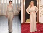 Julie Delpy In Jenny Packham - Oscars 2014
