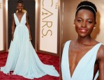 Lupita Nyong'o In Prada - Oscars 2014