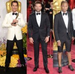 Oscars 2014 & Vanity Fair Party Menswear Red Carpet Roundup
