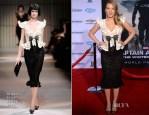 Scarlett Johansson In Armani Privé -  'Captain America: The Winter Soldier' LA Premiere