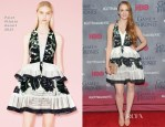 Sophie Turner In Peter Pilotto - 'Game Of Thrones' Season 4 New York Premiere