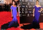 Who Wore Donna Karan Atelier Better...Naomie Harris or Norma Ruiz?