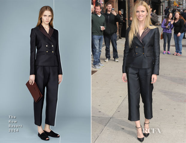 Brooklyn Decker In The Row - Late Show with David Letterman