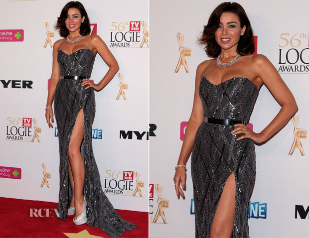 Dannii Minogue In Paolo Sebastian - Logie Awards 2014