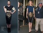 Heather Graham In J Brand & Katharine Kidd - The Today Show