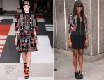 Naomi Campbell In Alexander McQueen - Vogue Festival 2014