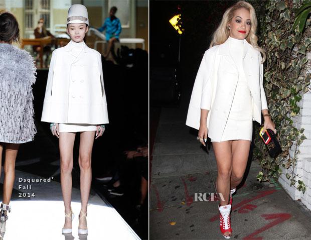 Rita Ora In Dsquared²  - Chateau Marmont
