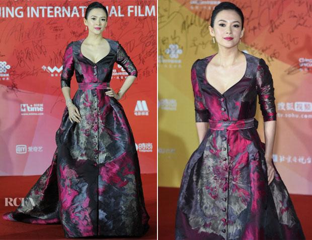 Liu Yifei in Zuhair Murad Couture attends the 7th Beijing