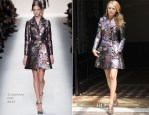Blake Lively In Valentino - Out In New York City