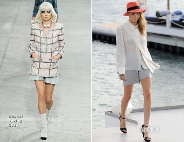 Cara Delevingne In Chanel - Le Grand Journal