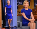 Charlize Theron In Stella McCartney - The Tonight Show Starring Jimmy Fallon