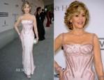 Jane Fonda In Atelier Versace - amfAR Cinema Against Aids Gala