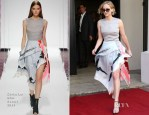 Jennifer Lawrence In Christian Dior - Out In Cannes