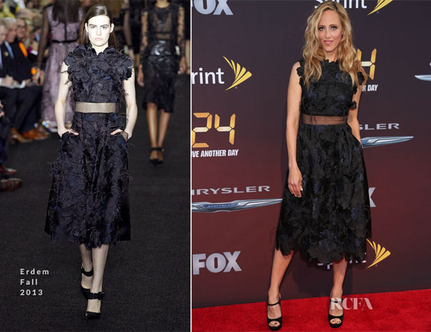 Kim Raver In Erdem - '24 Live Another Day' World Premiere