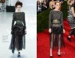 Kristen Stewart In Chanel Couture - 2014 Met Gala