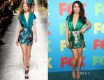 Lea Michele in Blumarine - FOX 2014 Programming Presentation