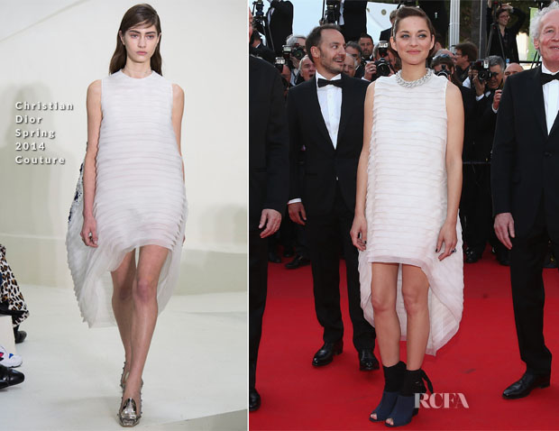 Marion Cotillard In Christian Dior Couture - 'Two Days, One Night'  ('Deux Jours, Une Nuit') Cannes Film Festival Premiere