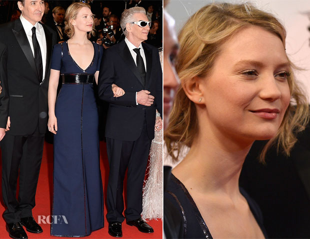 Mia Wasikowska In Louis Vuitton - 'Maps To The Stars' Cannes Film Festival Premiere