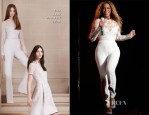 Beyonce Knowles In Elie Saab - 'On The Run' Tour