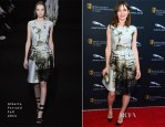 Emily Mortimer In Alberta Ferretti - BAFTA LA Garden Party