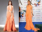 Heidi Klum In Donna Karan - 2014 CFDA Fashion Awards
