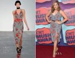 Hillary Scott In L'Wren Scott & Alexander McQueen - 2014 CMT Music Awards