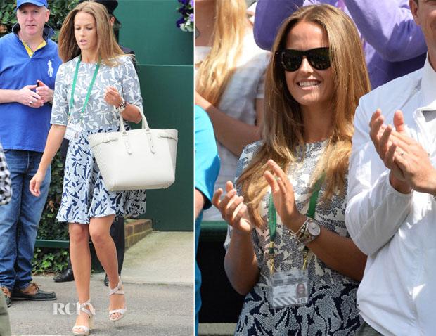Kim Sears In Hobbs - Wimbledon Championships