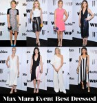 Who Was Your Best Dressed At The Max Mara Event Honoring Rose Byrne?