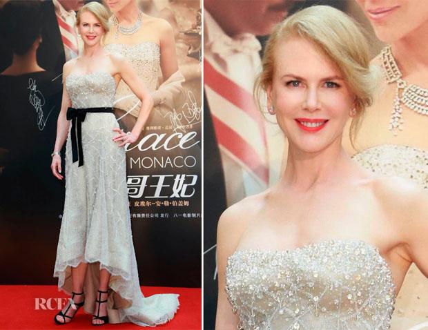 Nicole Kidman In Armani Privé - 'Grace of Monaco' Shanghai Film Festival Premiere