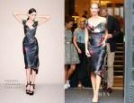 Poppy Delevingne In Vivienne Westwood Gold Label - Vienna Fashion Night 2014
